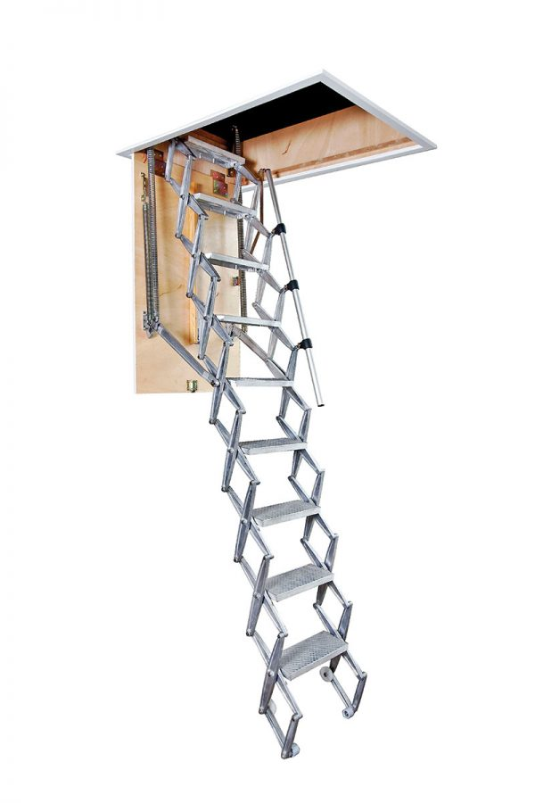 Photo of a Columbus concertina attic ladder